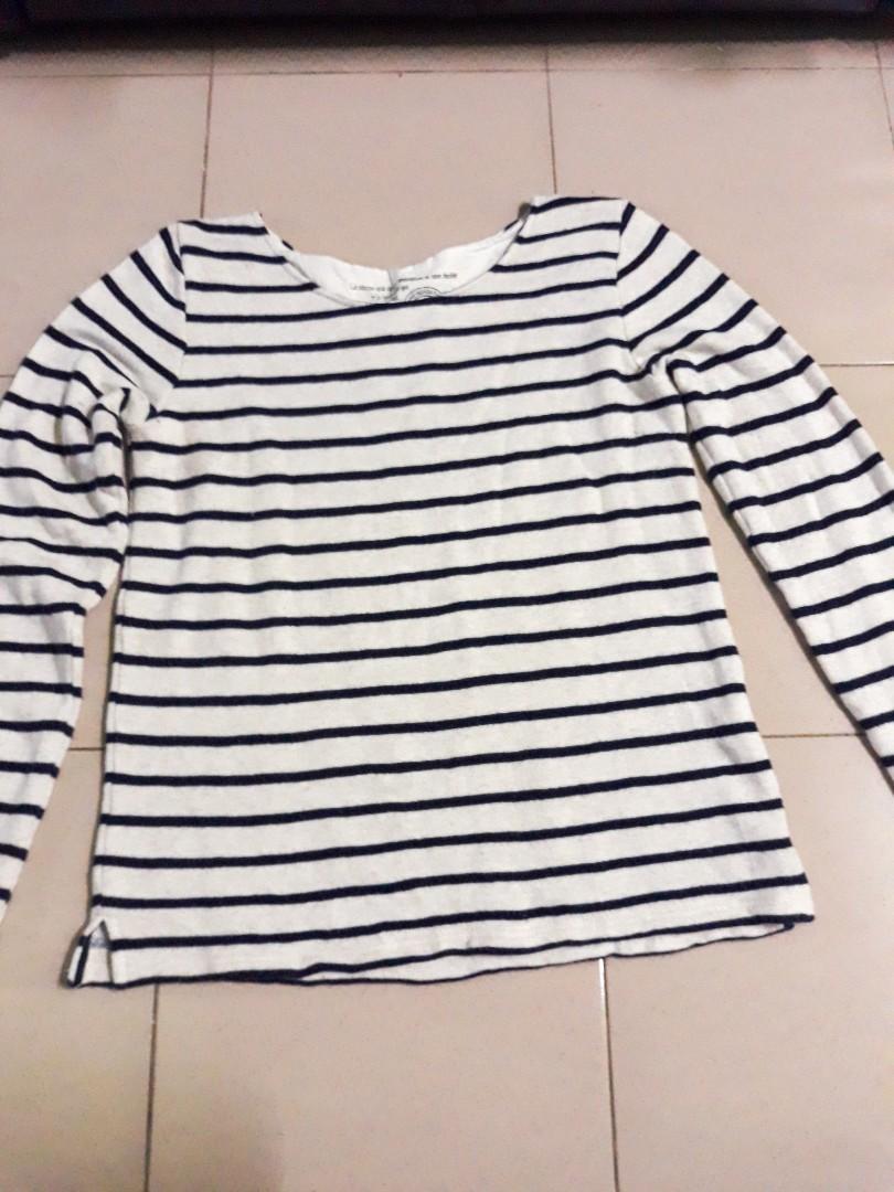 Stripe Top Knitwear