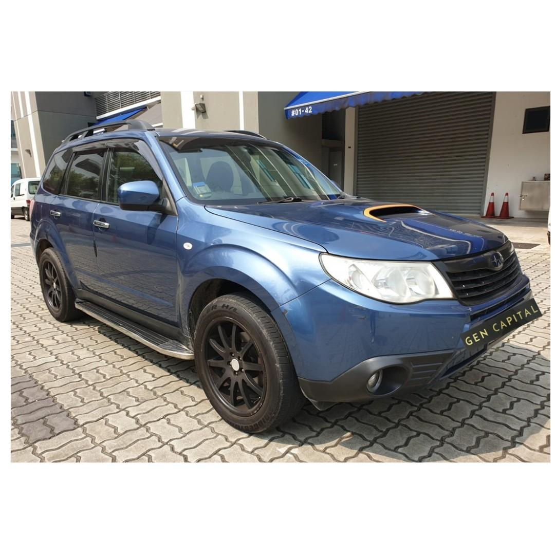 Subaru Forester - Many ranges of car to choose from, with very reliable rates!