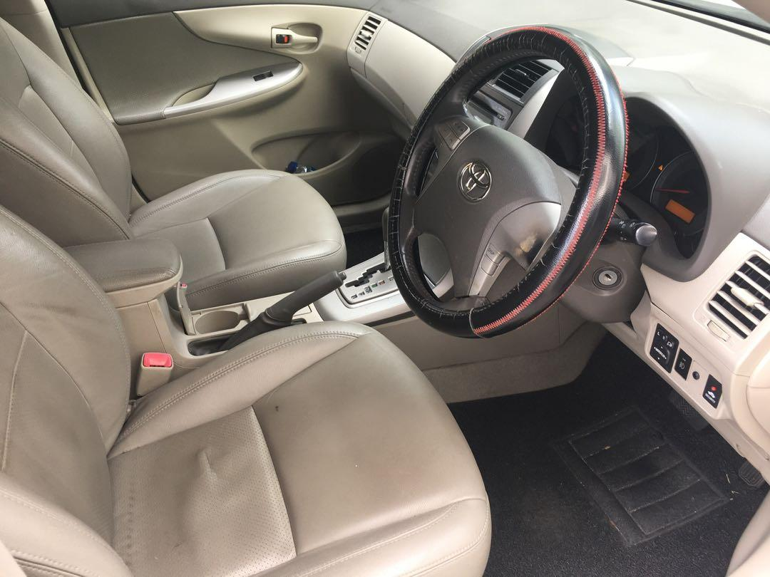 Toyota Altis, car for rent. Weekly rebate available. PHV ready