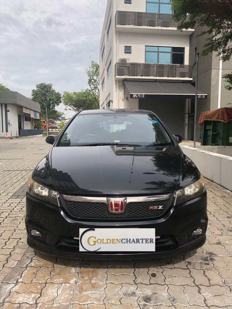 Honda Stream, car for rental. Weekly gojek rental rebate available. Grab|Gojek|Tada|Personal