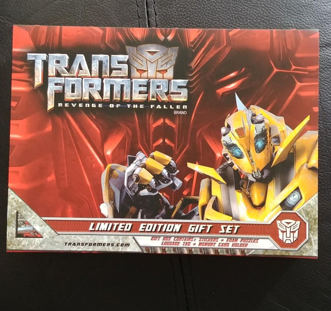 Transformers limited gift set