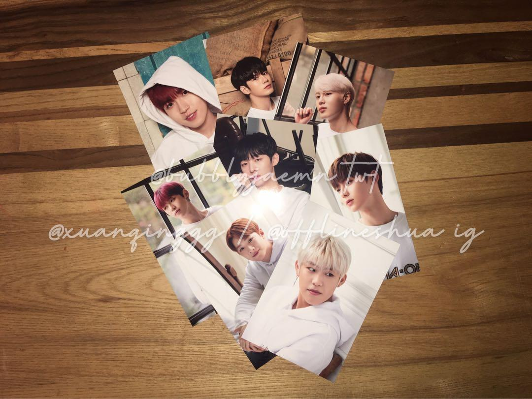 wanna one official 2019 seasons greetings 4R picture