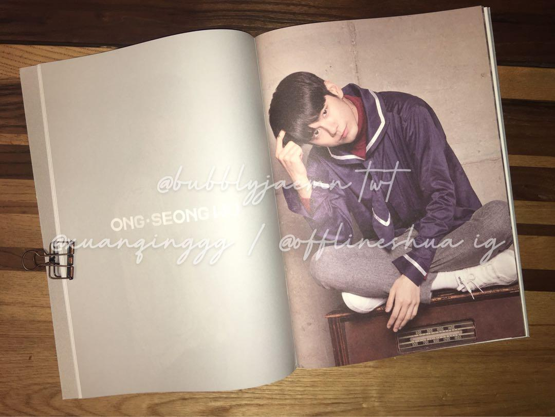 wanna one official 2019 seasons greetings picture diary