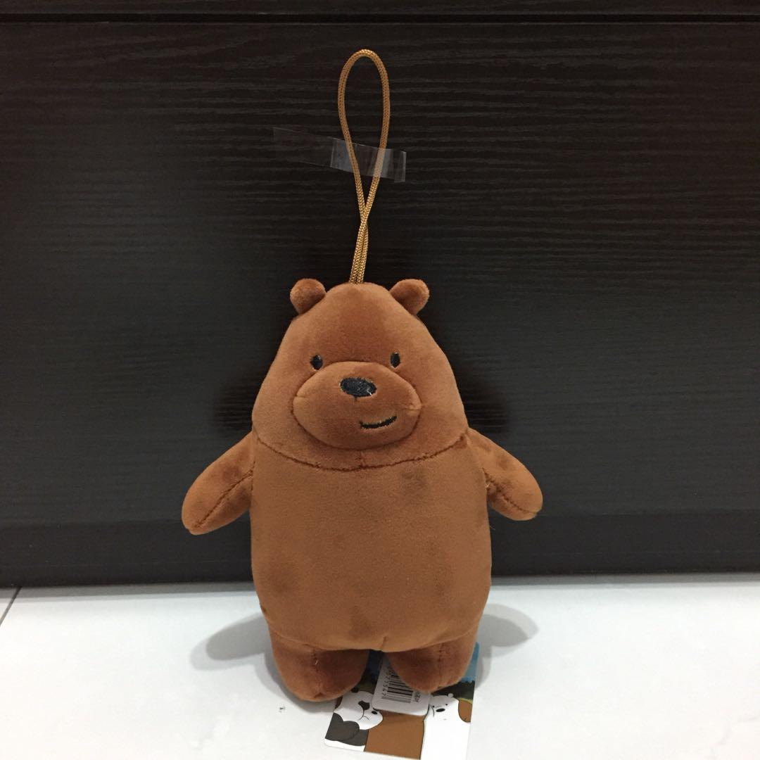 We Bare Bears Grizzly Soft Toy
