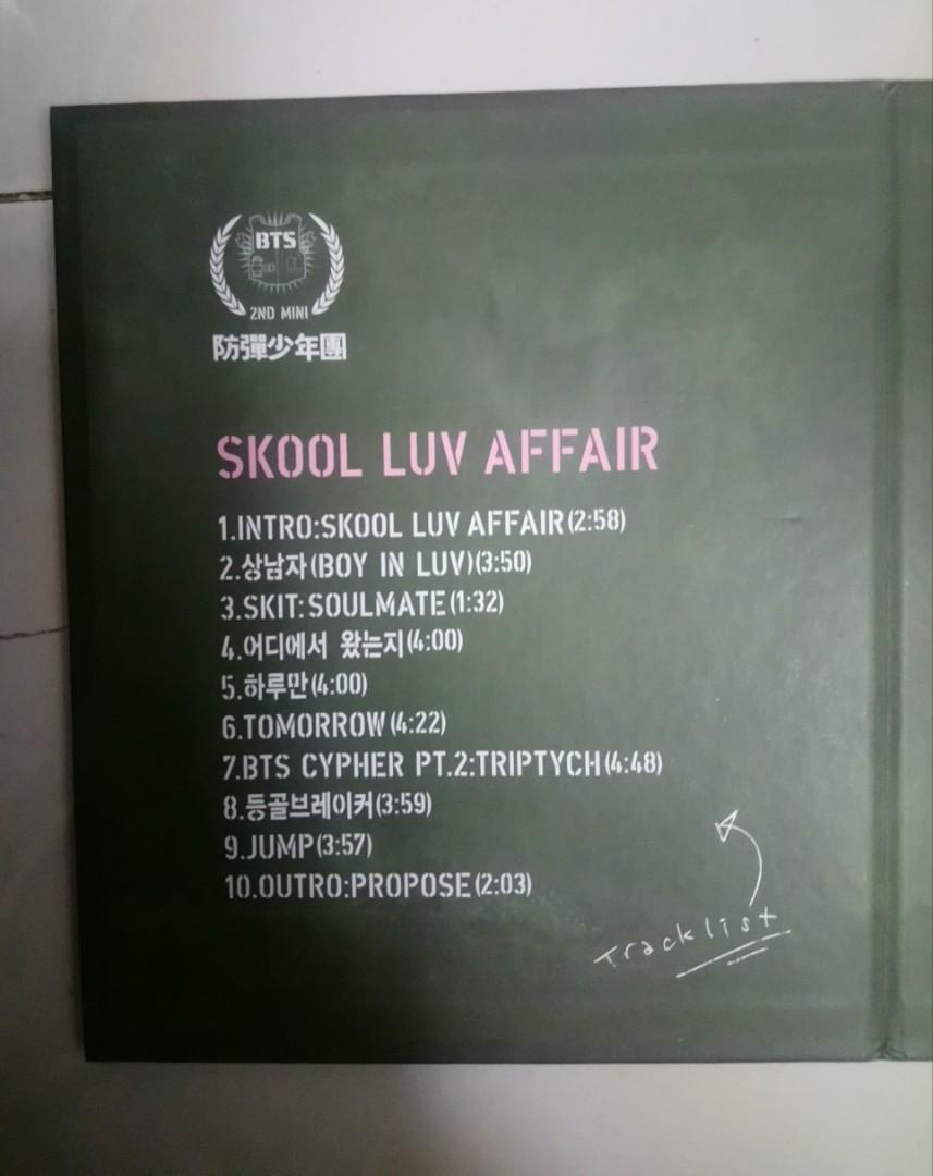 [WTS FAST] BTS SKOOL LUV AFFAIR UNSEALED OFFICIAL ALBUM