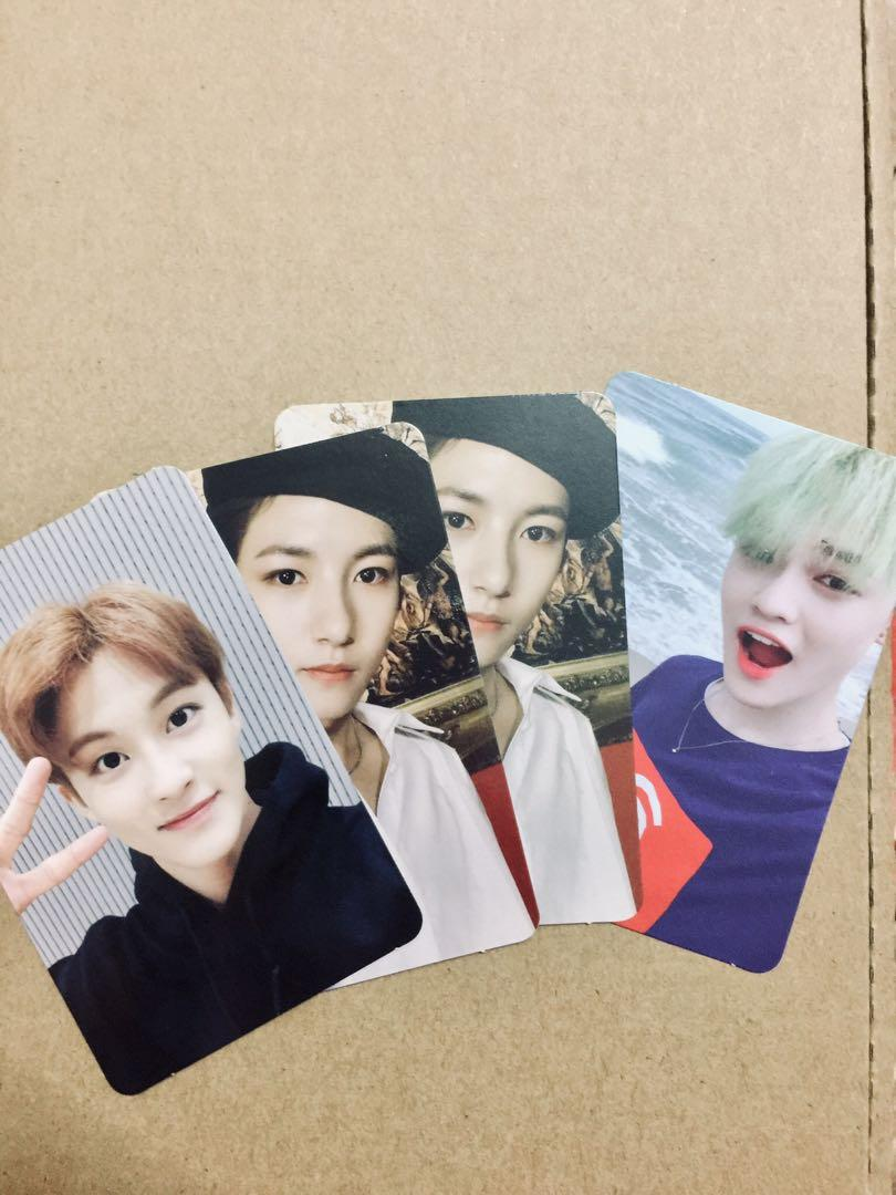 WTS NCT Photocards