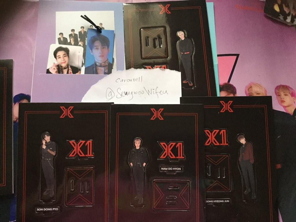 X1 Han Seungwoo member set for Quantum Leap version Album + First press benefit Seungwoo AR photocard