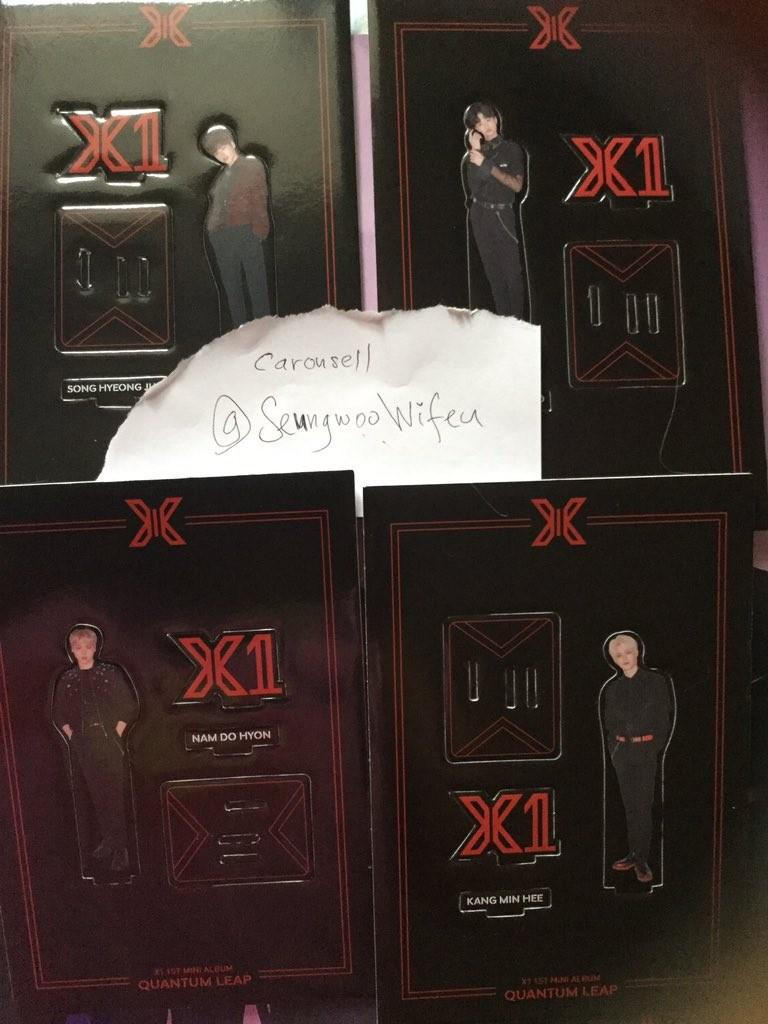 X1 Unsealed album (Can choose any member available you want) Quantum leap Ar photocard bookmark standee loose item