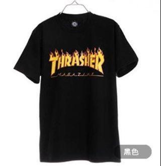 THRASHER黑