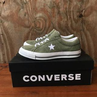 Converse One Star ijo