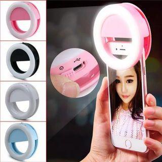 Selfie Ring Light OSM R250 SELFIE LED / LAMPU SELFIE BULAT UNTUK KAMERA HP / SELFIE