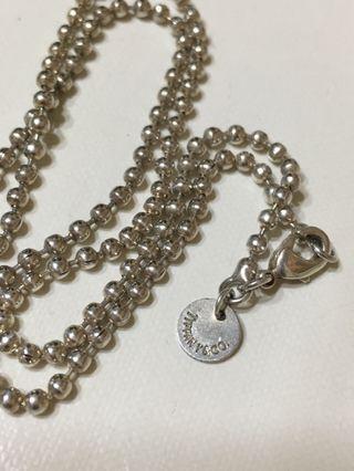 925純銀項鍊,加贈同款大愛心銀墜