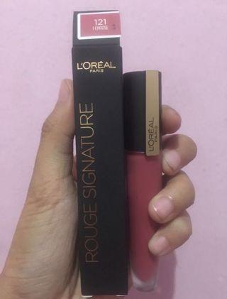 Loreal Rogue Lip Matte
