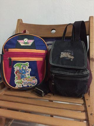 School Bag swan Rare