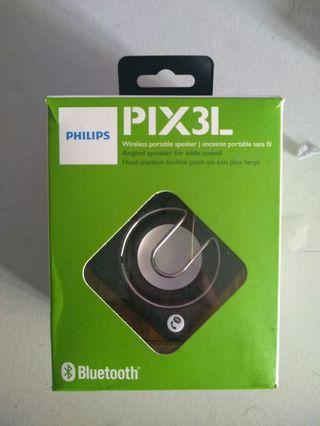 Phillips Pix3l Bluetooth Speaker