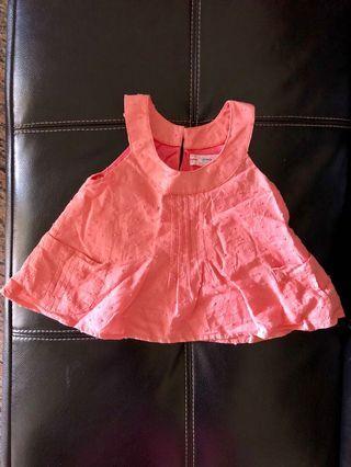 Peach Baby Top
