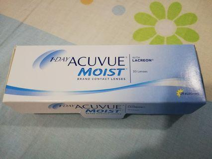 (3.25 degree) 1Day Acuvue Moist Contact Lenses