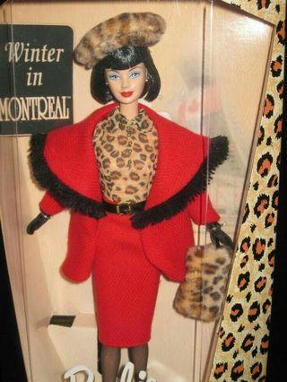 Barbie Winter in montreal