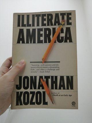 Illiterate America Jonathan kozol