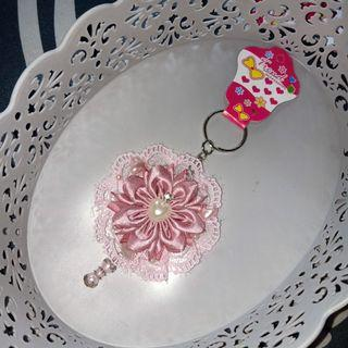 Gantungan kunci keychain handmade korea japan renda shabby lolita style 2c