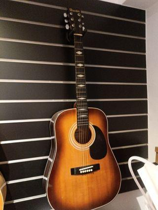 那麼便宜的吉他 還不買走 D桶 漸層夕陽
