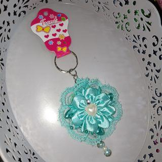 Gantungan kunci keychain handmade korea japan renda shabby lolita style 2a