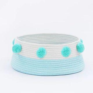 全新現貨球球貓窩(藍白色)