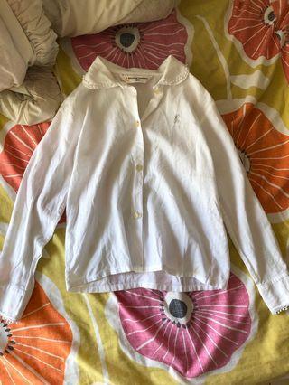 Roberta di Cameroon 白色襯衫