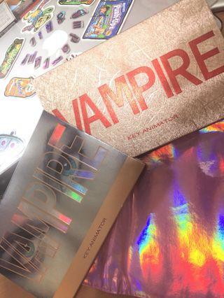 吸血鬼17色眼影盤+遮瑕