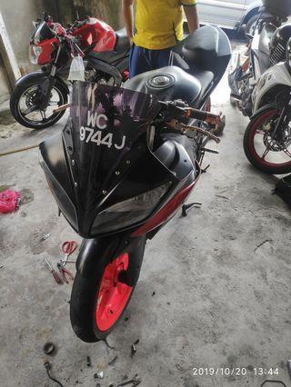Yamaha FZ150i Convert R15v2 ( Swap Motor Bakul )
