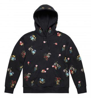 新❤️❤️限量超級難買到🌟Erdem X H&M✨花卉刺繡連帽運動衫