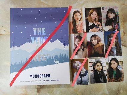 [WTS] TWICE THE YEAR OF YES MONOGRAPH