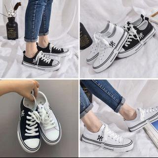 韓國經典綁帶Q軟休閒鞋