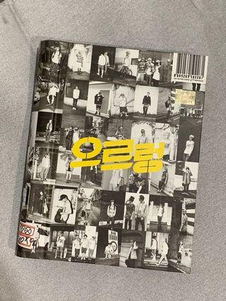 EXO Growl Album (CD + photobook)