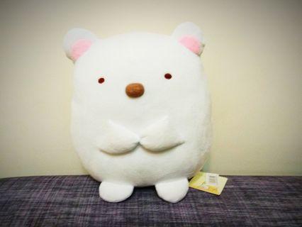 12吋 角落生物 角落小夥伴 白熊 抱枕 靠墊 午安枕 絨毛娃娃 玩具 玩偶