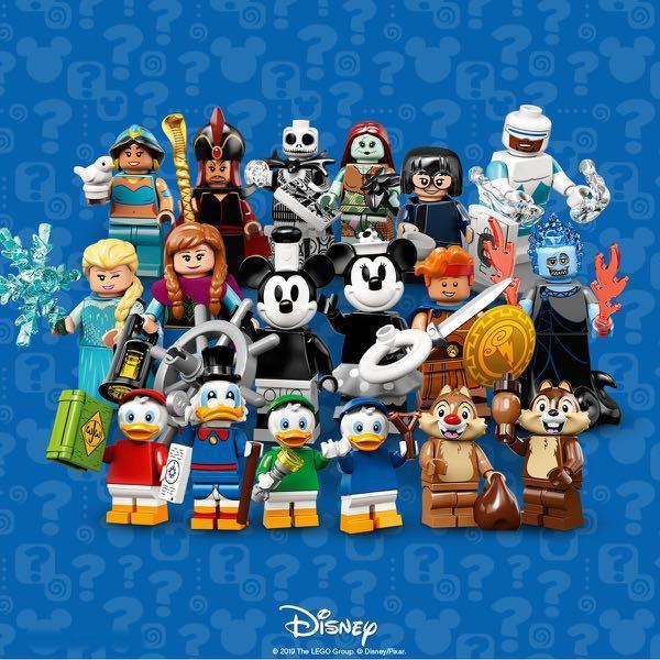 1 complete set of Lego 71024 Disney Minifigures Series 2