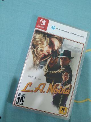 Nintendo switch - LA Noire Game