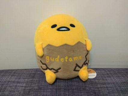 12吋 蛋黃哥 抱枕 靠墊 午安枕 絨毛娃娃 玩具 玩偶