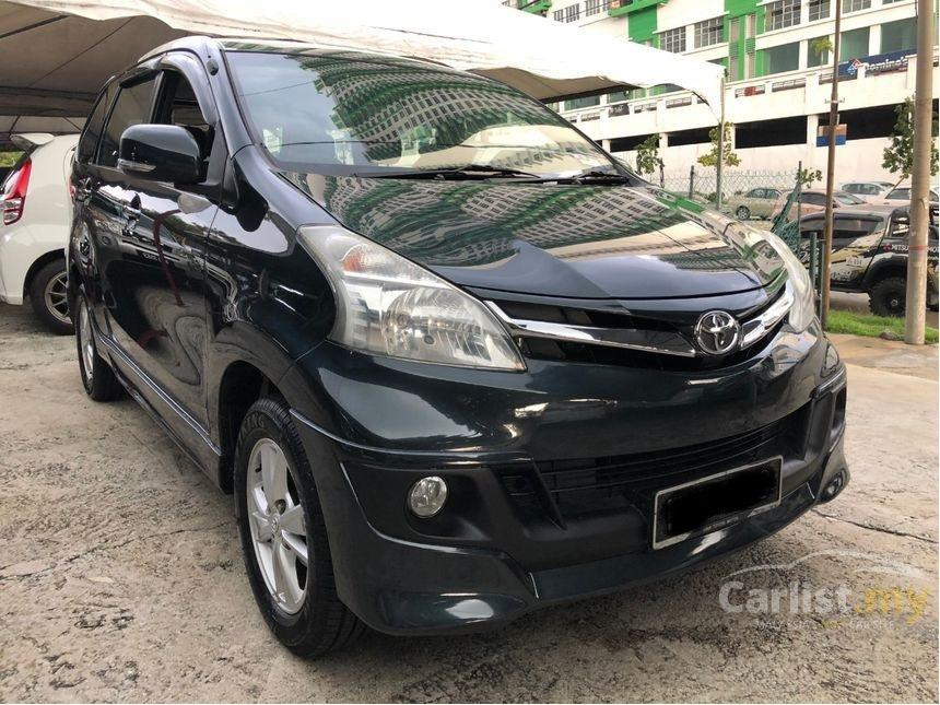 2012 Toyota Avanza 1.5 G (A) One Owner Bodykit Toyota Service Record       http://wasap.my/601110315793/AvanzaG2012