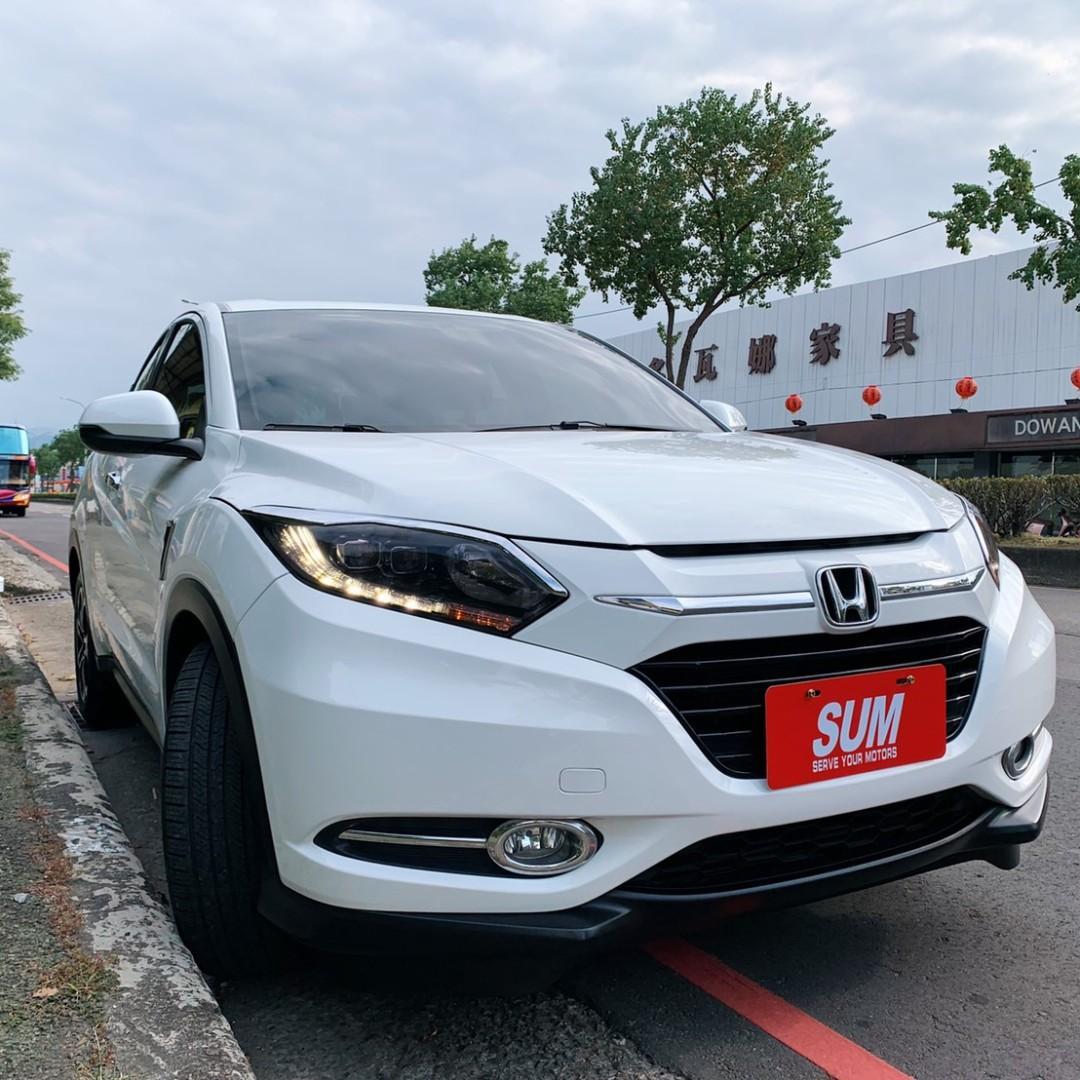 正2017年底出廠 最新款Honda HR-V 1.8S最頂級版本