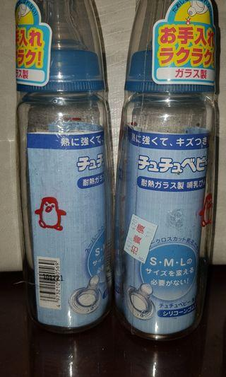啾啾日製玻璃奶瓶 # 換物