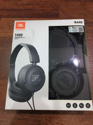 JBL by Harman T450 On-Ear Headphones