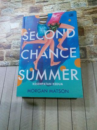 Novel second chance summer #mauovo