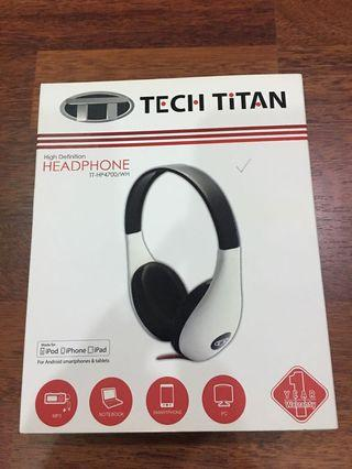 Tech Titan High Definition Headphones