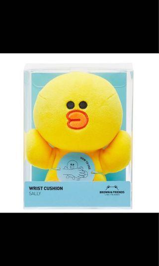 【全新轉售🌟】Line Friends 莎莉 托手軟抱枕 手腕枕墊 滑鼠枕