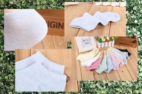 襪子 糖果短襪 棉質