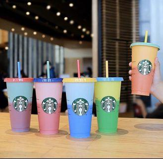 Starbucks Reusable Cup Changing Color