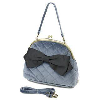 【預購】日本 | 蝴蝶結(547946):手提肩背包/手提包(尺寸:22.5×27.5×12cm)_免運。