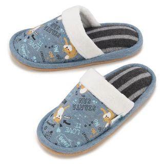 【預購】日本 | 柴犬(748780):滌綸*拖鞋/室內拖鞋(尺寸:22-24cm)_免運。