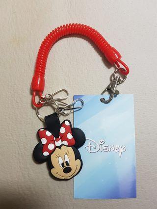 迪士尼米妮鑰匙圈